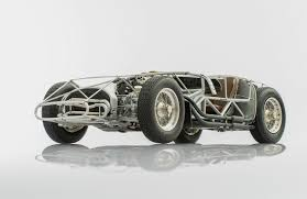 Maserati 300s Rolling Chassis 1956 By Cmc Model Cars Racing Heroes