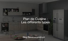 les diff駻ents types de cuisine plan de cuisine les différents types