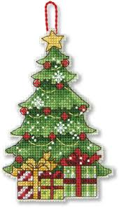 dimensions tree christmas ornament cross stitch kit 70 08898