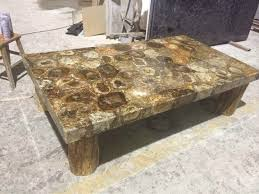 petrified wood dining table polished petrified wood onyx dining table marble for decoration
