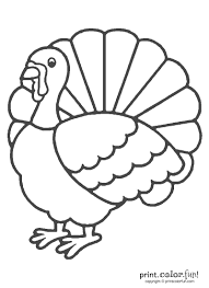 animal thanksgiving color by number printables thanksgiving
