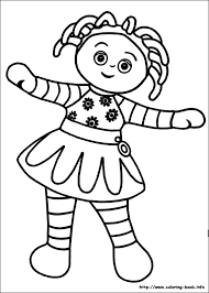 night garden colouring pages funycoloring