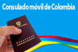 consolato colombiano consulado m祿vil de colombia llegar磧 este mi礬rcoles a la poblaci祿n