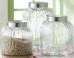 glass kitchen canisters decorative kitchen canisters and jars