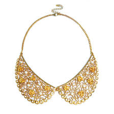 collar gold necklace images Floral collar necklace rings tings online fashion store jpg