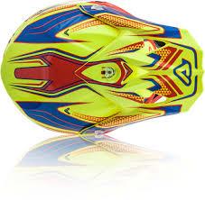 yellow motocross helmets acerbis impact 3 0 motocross helmet helmets offroad yellow blue