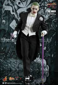 toys joker tuxedo version figure from squad