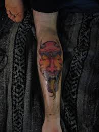 oni mask tattoo by chocopbcup22 on deviantart