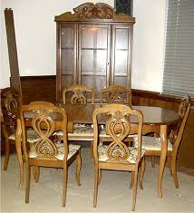 cash it stash it or trash it french provincial dining room set