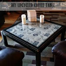 Wine Crate Coffee Table Diy by Diy Vintage Chic Diy Upcycled Coffee Table