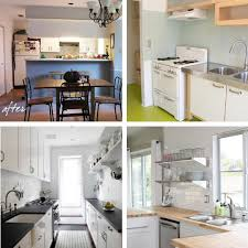 Budget Kitchen Makeovers Before And After - awesome 90 cheap kitchen makeover ideas before and after
