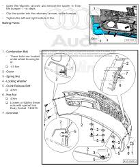 audi a3 front bumper removal front bumper cover removal audiworld forums