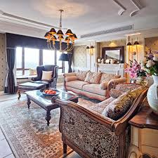 Pictures Of Living Rooms With Leather Chairs 36 Elegant Living Rooms That Are Richly Furnished U0026 Decorated
