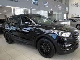 hyundai crossover truck 2017 hyundai santa fe sport limited black edition this is a
