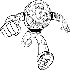 coloring graceful buzz coloring pages zurg pages12