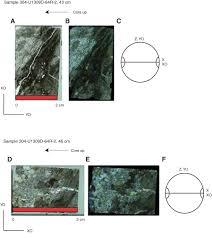 Study Of Maps Proc Iodp 304 305 Data Report An Electron Backscatter