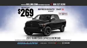 dodge ram 1500 lease golling chrysler dodge jeep ram president s day sales event