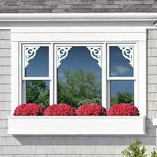 window mirror door vinyl decals nantucket fretwork