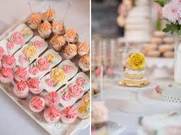 Bridal Shower Dessert Table Elegant Light Blue U0026 Pink Bridal Shower