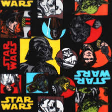 star wars pop art fleece