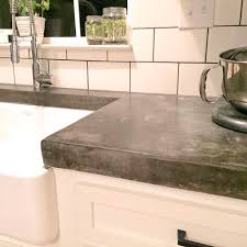 modern kitchen concrete countertops backsplash kitchen countertop thickness that sink and thick