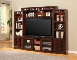 Dark Wooden Tv Stands How To Decorate A Dark Wood Wall Unit Google Search Wall Unit