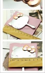 Portable Vanity Table Hello Kitty Mirror Makeup Mirror Hand Vanity Table Compact Mirror