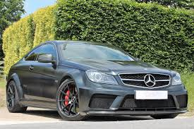 matte black car used 2012 mercedes benz amg c63 amg black series for sale in west