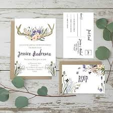 rustic bridal shower invitations top 10 best bridal shower invitations heavy