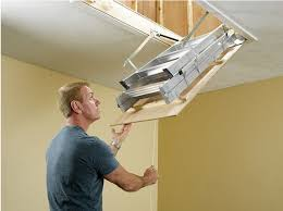 household aluminum ladder folding attic stairs telescopic ladder