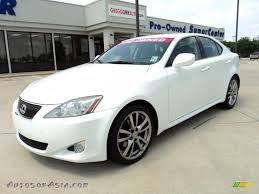 white lexus is 250 2008 lexus is 250 in starfire white pearl 053344 autos of asia