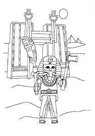Playmobil egypte pharaon  Coloriage Playmobil  Coloriages pour enfants