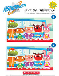 Astroblast Spot The Difference Parents Scholastic Com