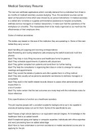 legal assistant resume objective administrative secretary duties resume virtren com