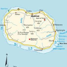 Tonga Map Map Of Greater Rarotonga Cook Islands Maps And Directions At