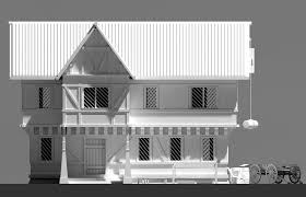 House Models by Blender 3d Speed Modeling Rpg House Exterior Youtube