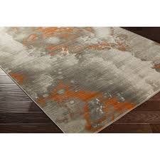 Pottery Barn Area Rugs by Gray And Orange Rug Roselawnlutheran