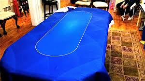 poker table felt fabric quick easy poker table top dye sublimation poker cloth youtube