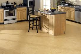 maple kitchen islands flooring ideas light cork flooring in kitchen with country style