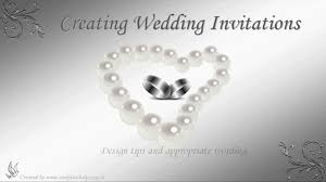 Wedding Invitation Verses Wedding Invitation Wording Youtube