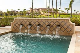 water features water features u0026 fire features portfolio of aaa custom pools inc