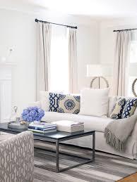 White Throws For Sofas Unique Blue And White Living Room Design Ideas White Throws