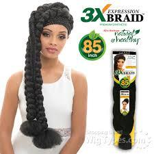 janet collection 3x caribbean braiding hair janet collection synthetic braid expression 3x braid pp