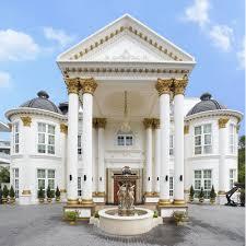 luxury mediterranean home architecture grand entrance bilder