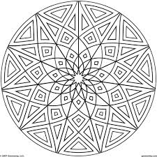 coloring pages abstract design coloring pages geometric design