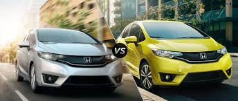 honda fit ex vs ex l