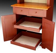 Kitchen Furniture Hutch Shaker Style Hutch Milk Painted Finewoodworking