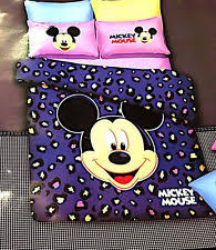 Mickey Mouse Queen Size Bedding Mickey Mouse Bedding Ebay