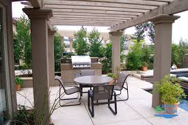 Pergola Outdoor Kitchen Outdoor Living Outdoor Kitchens Fireplaces Fire Pits Stonework