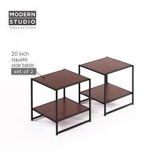 Modern Studio Furniture by Amazon Com Zinus Modern Studio Collection Set Of Two 20 Inch